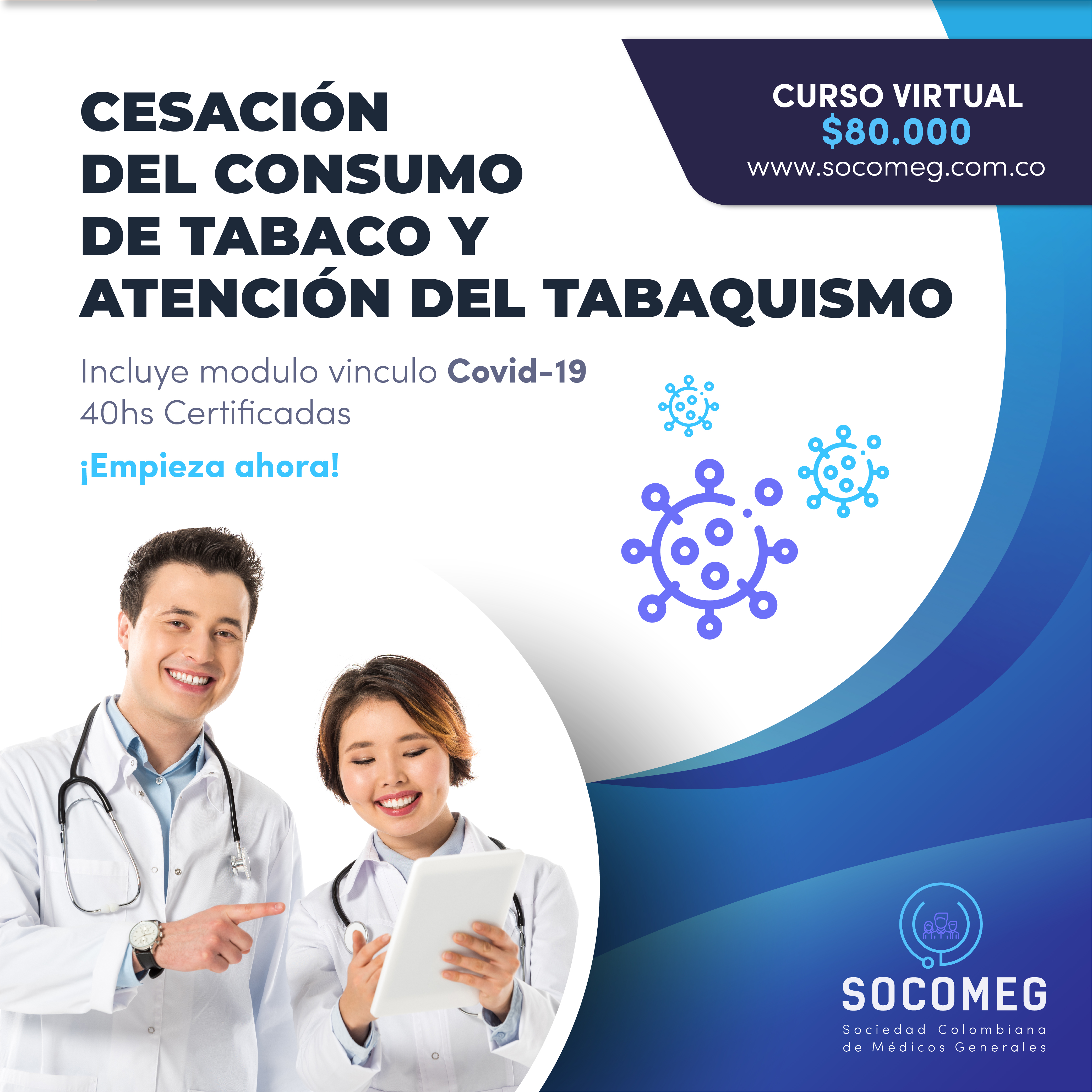 Curso de cesación de Tabaco
